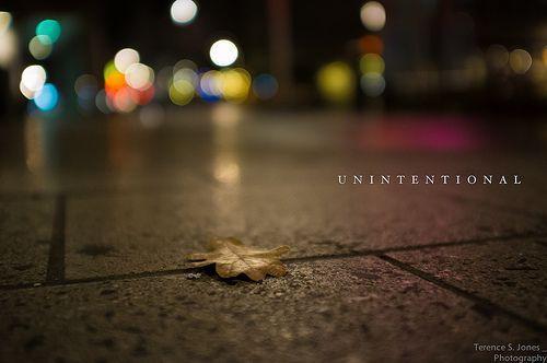 unintentional, por Terence S. Jones
