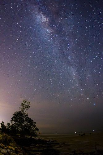 Milky Way @ Pantai Kelanang, por unknown_obj