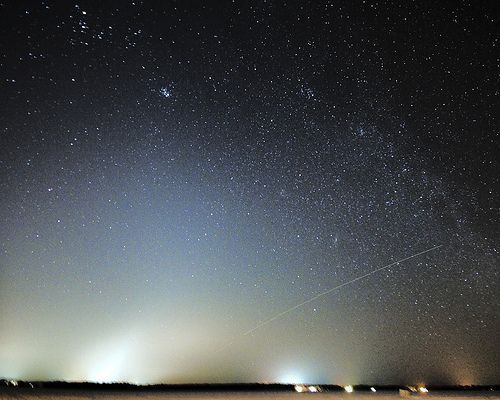 Zodiacal light Over Cumberland Beach, por Robert Snache - Spirithands.net