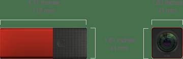 cámara Lytro 05_Dimensiones