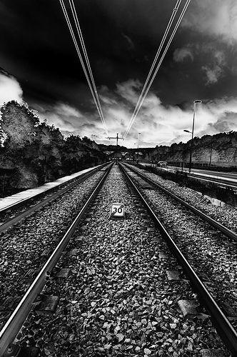 railway, por Kim