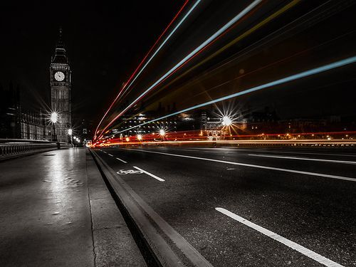 Light Trails, por wwarby