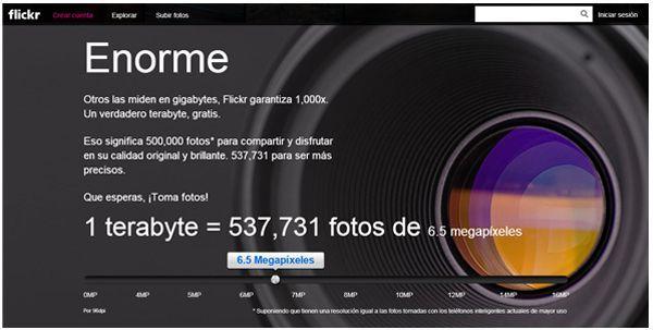 Flickr 02 Inicio