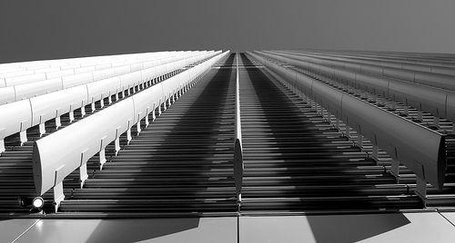 Converging lines, por Kevin DooleyKevin Dooley