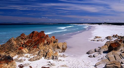 Bay of Fires Beach, por Mark Wassell