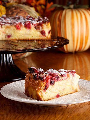Cranberry-Apple Breton Cake, por Dennis Wilkinson