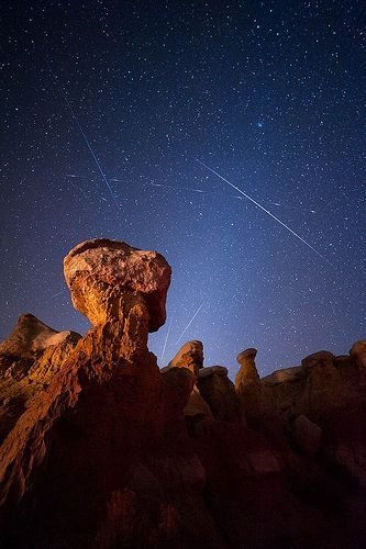 Paint Mines Leonids, por David Kingham