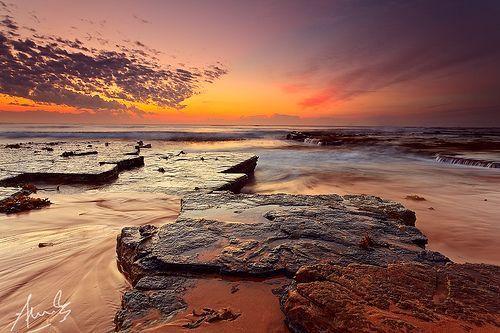 Turimetta Dawn Colours, por Sacha Fernandez