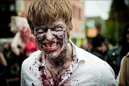 Halloween amazing zombie