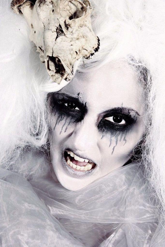 fotografia de retrato de halloween