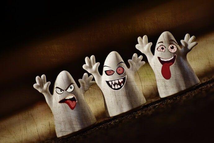 foto halloween fantasmas