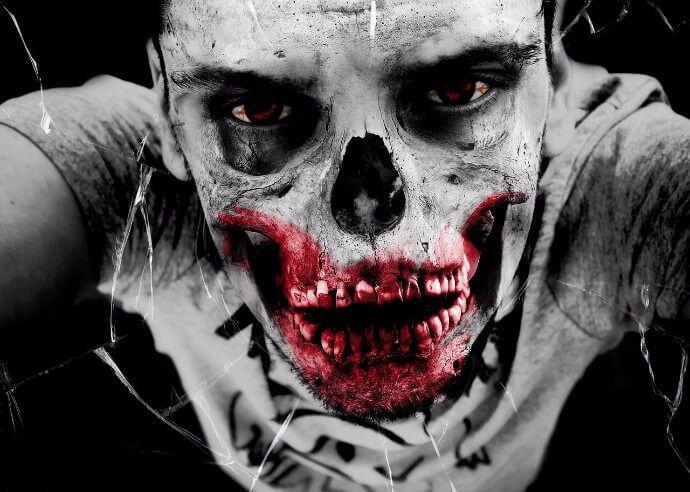 foto de halloween zombie