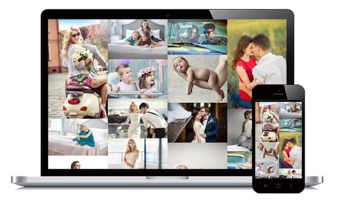 Arcadina: Webs para Fotógrafos Profesionales