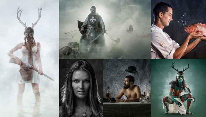 Fotografía creativa y retrato conceptual