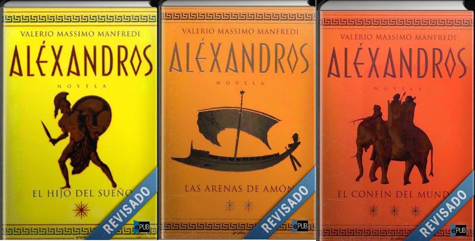 Saga 'Aléxandros' de Valerio Massimo Manfredi