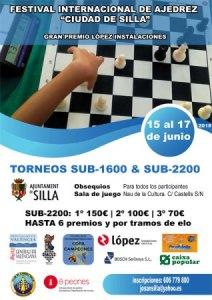 TORNEO AJEDREZ SUB-2200 y SUB-1600 SILLA