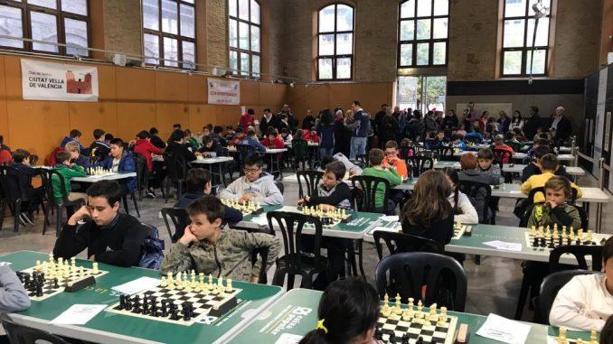 ajedrez plaza petxina