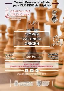 Valencia Origen. Inscripción Cerrada