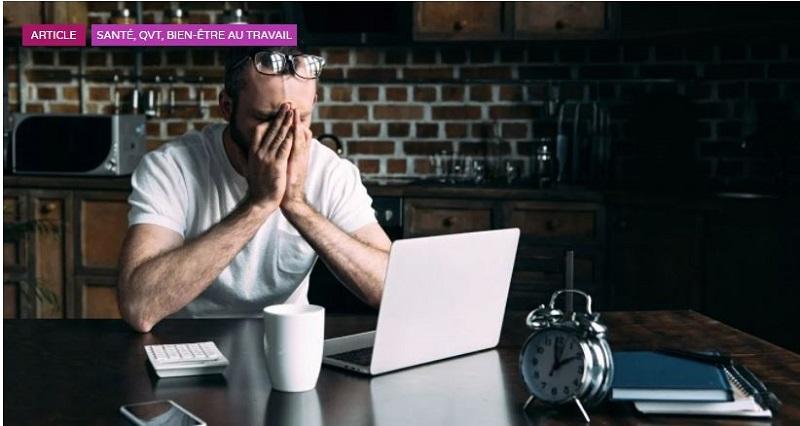 Le télétravail place-t-il les salariés en détresse psychologique ?