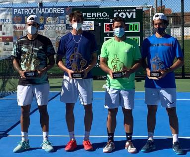 Finalistas de dobles IX open de tenis la rambla