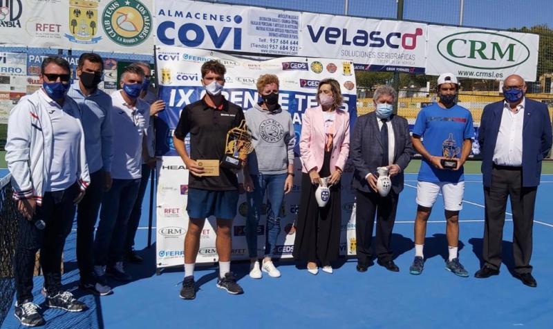 Entrega trofeos IX Open Tenis La Rambla