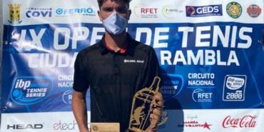 """John Echeverria se ha proclamado  Campeón del IX Open Internacional """"Ciudad de La Rambla"""""""