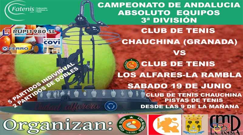 Campeonato de tenis por equipos de andalucia
