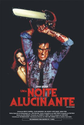 Poster do filme Uma Noite Alucinante: A Morte do Demônio