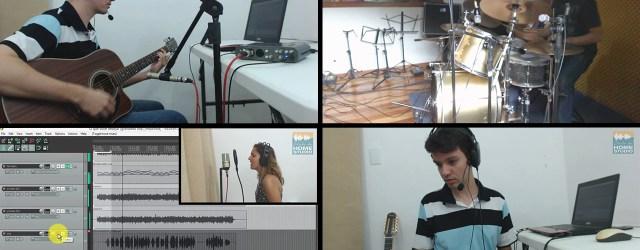 1ª produção do curso de home studio