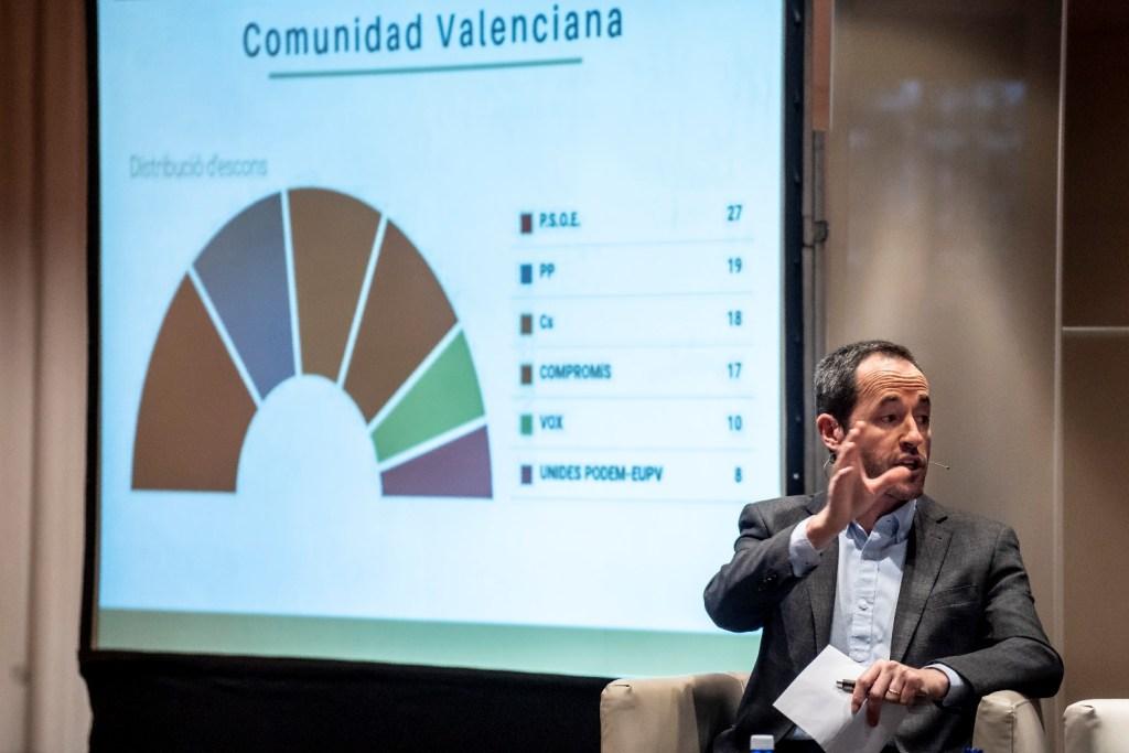 Directores de medios de comunicación valencianos analizan los resultados de las elecciones del 28A en el Club de Encuentro54