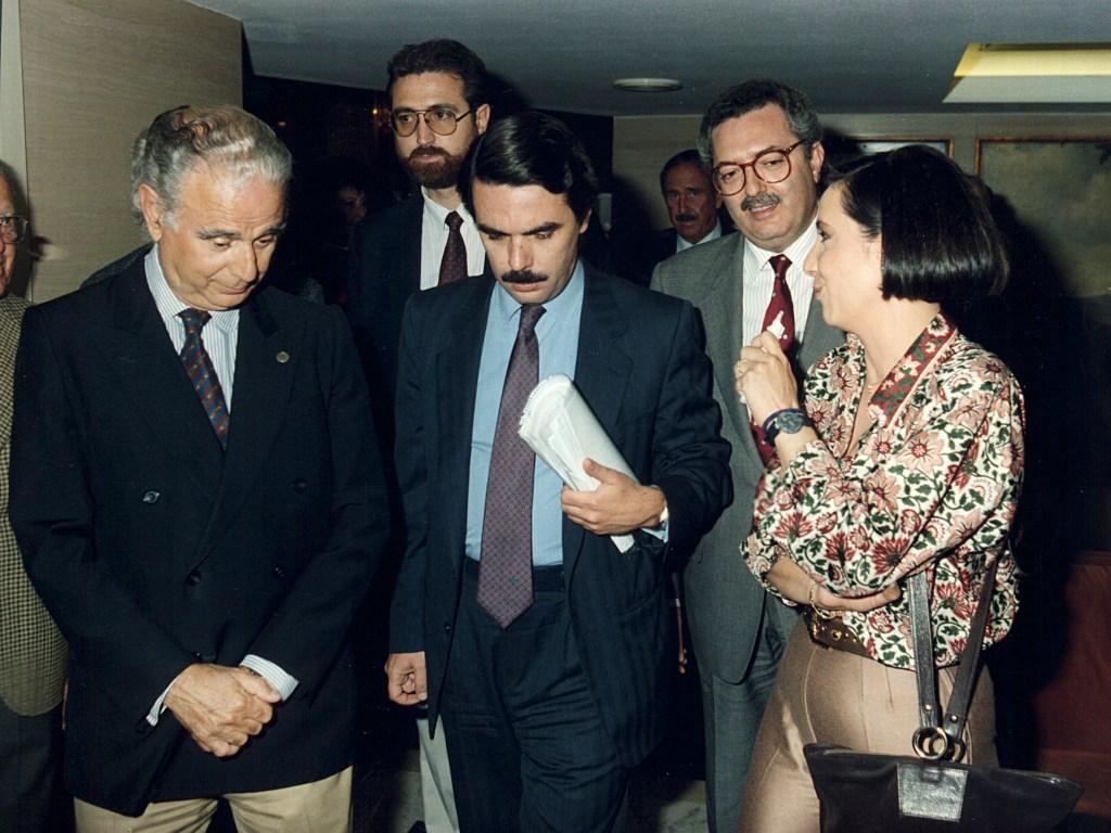 José María Aznar en el Club de Encuentro