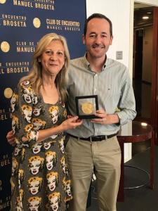 El Club de Encuentro entrega sus medallas a directores de medios de comunicación valencianos III