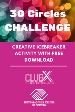 30 Circles Challenge: Creative Icebreaker Activity with FREE