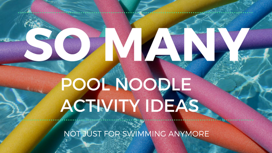 Link Roundup! Pool Noodle Activities For Every Club Area