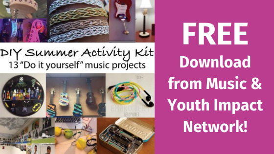 the music youth initiative which partners with clubs around the country to help start and maintain music programming has released an updated free summer