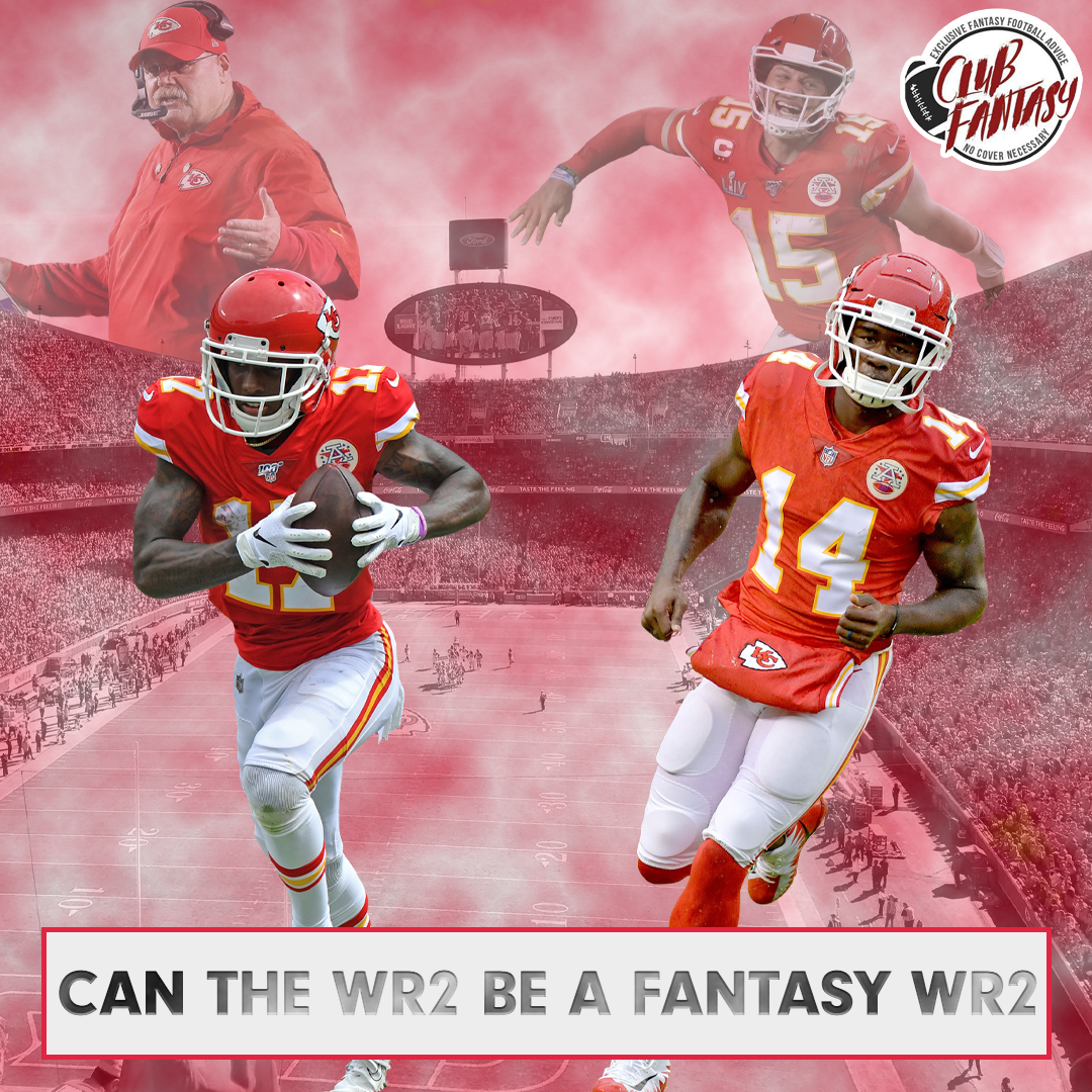Can The WR2 Be A Fantasy WR2