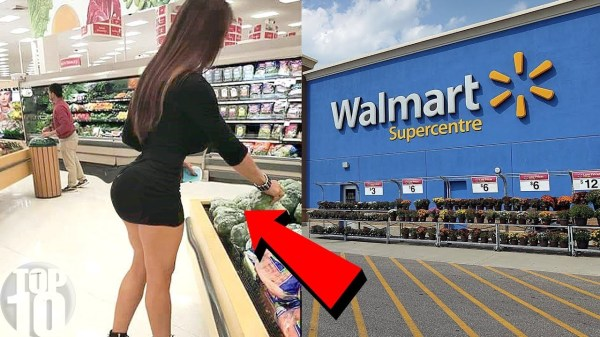 INAPPROPRIATE People At Walmart
