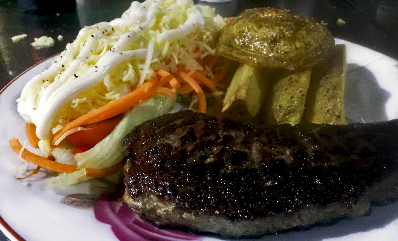 Clubhouse Bali Steak Meal Steak Grill Bar