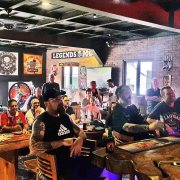 Full House for the All Blacks v Lions @ Clubhouse Bali