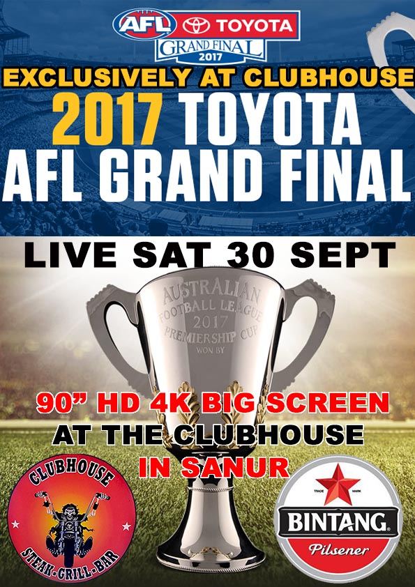 2017 AFL Grand Finals Live At The Clubhouse