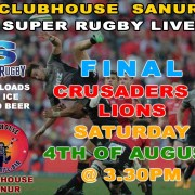 LIVE SPORTS in BALI SUPER RUGBY