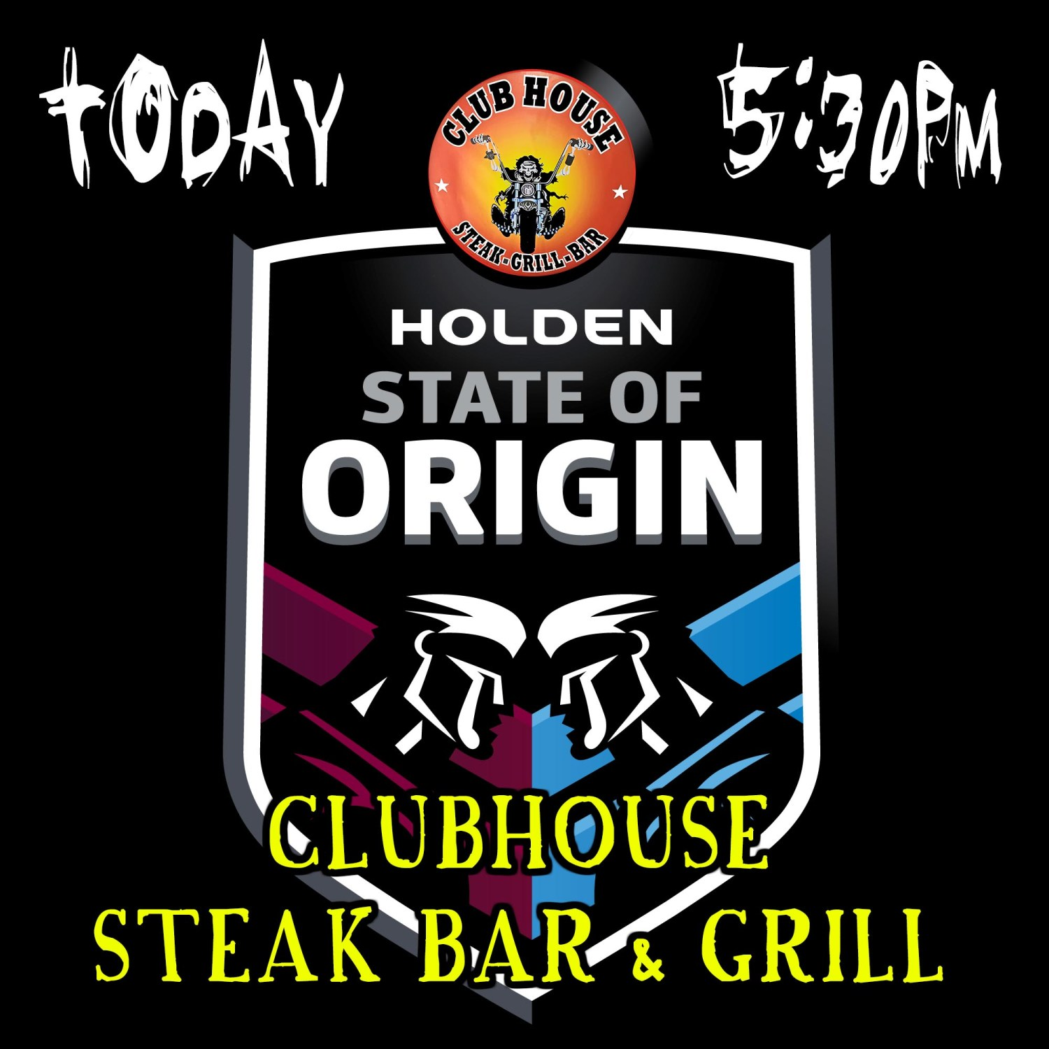 State of Origin 2018 Game 3 Clubhouse Sanur Bali