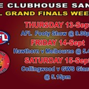 Clubhouse Sanur The Place to be for LIVE SPORTS in BALI - AFL Finals