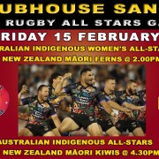CLUBHOUSE SANUR PRESENTS NRL RUGBY ALL STARS