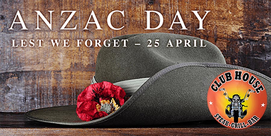 Clubhouse Sanur Anzac Day Rememberance