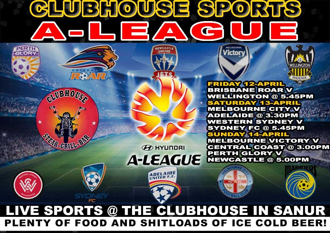Clubhouse Steak Grill & Bar Sanur A League