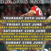 The Clubhouse Sanur Presents AFL Live in Bali