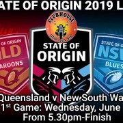 STATE OF ORIGIN 2019 LIVE Clubhouse