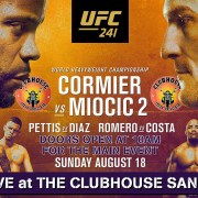 Clubhouse Sanur Presents UFC 241 Heavyweight Bout Live