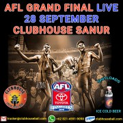 AFL Grand Final 2019 Live Clubhouse Sanur Bali